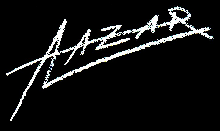 The artistic signature of Andreas Lazar