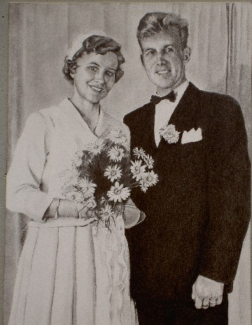Wedding Anniversary (Pencil, 30 x 50 cm), 2006
