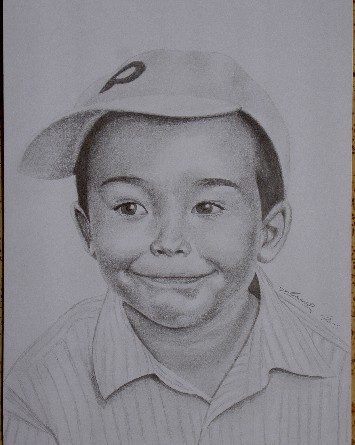William (Pencil, 30 x 50 cm), 2005